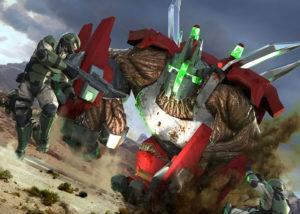 Halo Wars 2 colony Goliath