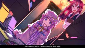 Touhou Kobuto V: Burst Battle cut scene