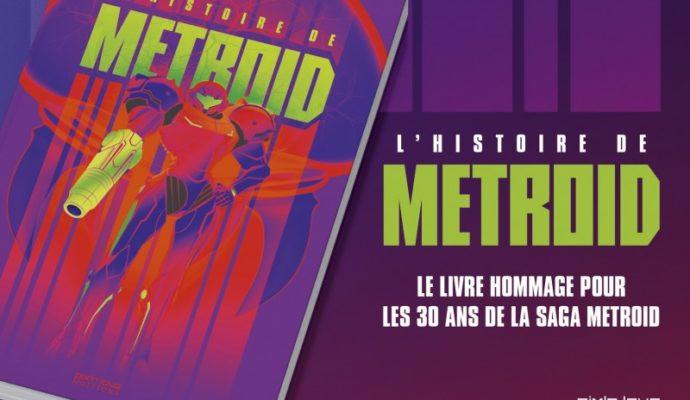 l'histoire de metroid couverture