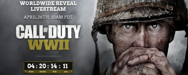 Le nouveau Call of Duty: WWII se révélera plus en détail le 26 avril