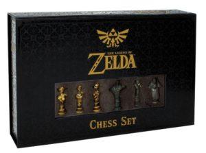 La boite du nouveau jeu d'échec The Legend of Zelda