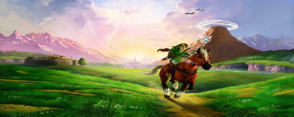 Une des images de The Legend of Zelda Ocarina of Time pour présenter le nouveau produit dérivé de The Legend of Zelda