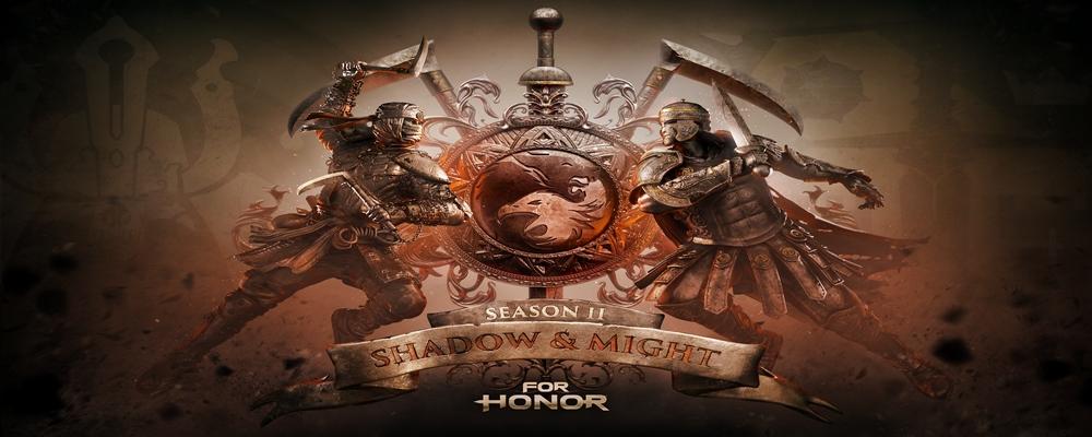 Une artwork officiel de Shadow and Might, la saison 2 de For Honor