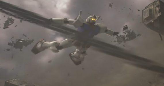 Un robot géant s'envole dans le trailer de Gundam Versus