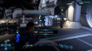 Une image du multijoueur avec plusieurs autres joueurs alliés dans Mass Effect: Andromeda