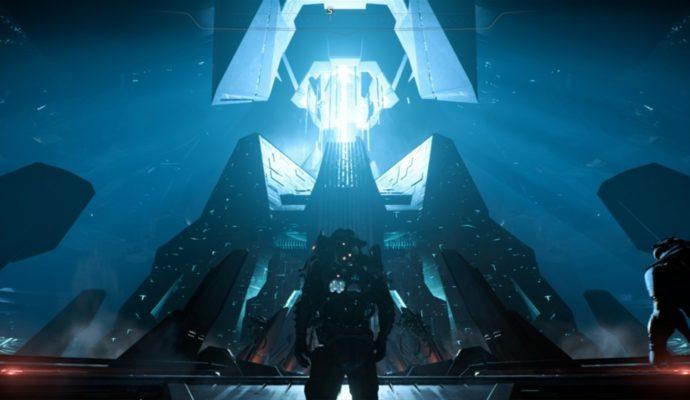 Le cœur de Méridiane dans Mass Effect: Andromeda.