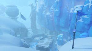 L'une des arènes d'Overwatch sorties durant la première année d'Overwatch : Ecolab: Antarctique.