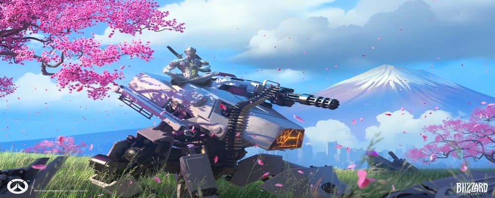Une image de Genji, d'Overwatch.