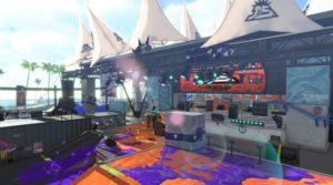La majeure partie de l'arène Scène Sirène de Splatoon 2