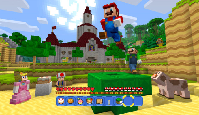 Minecraft édition Wii U : Mario Pack