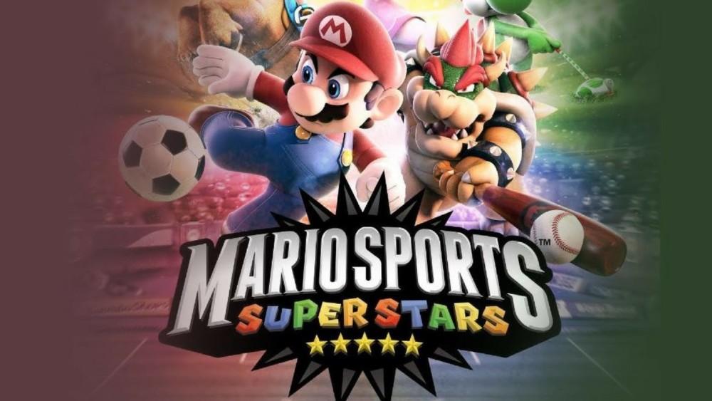 mario sports superstars est un jeu contenant 5 sports ! Voici une image provenant du trailer