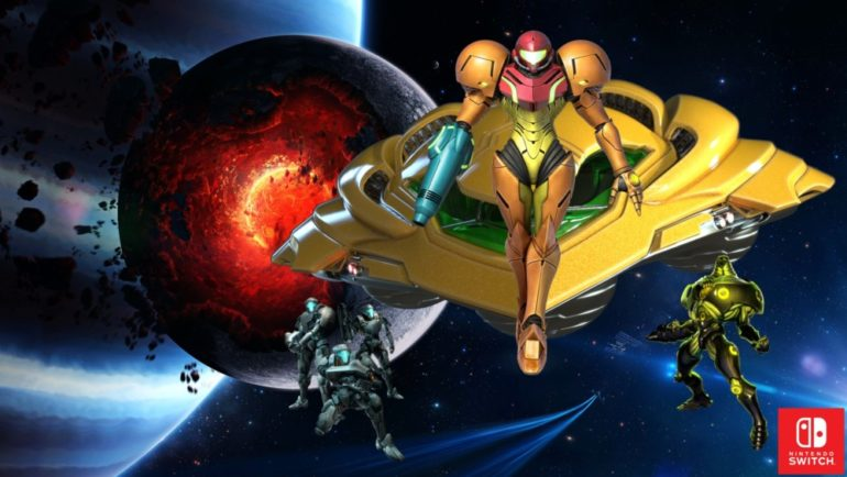 Metroid New Beginning sur Nintendo Switch