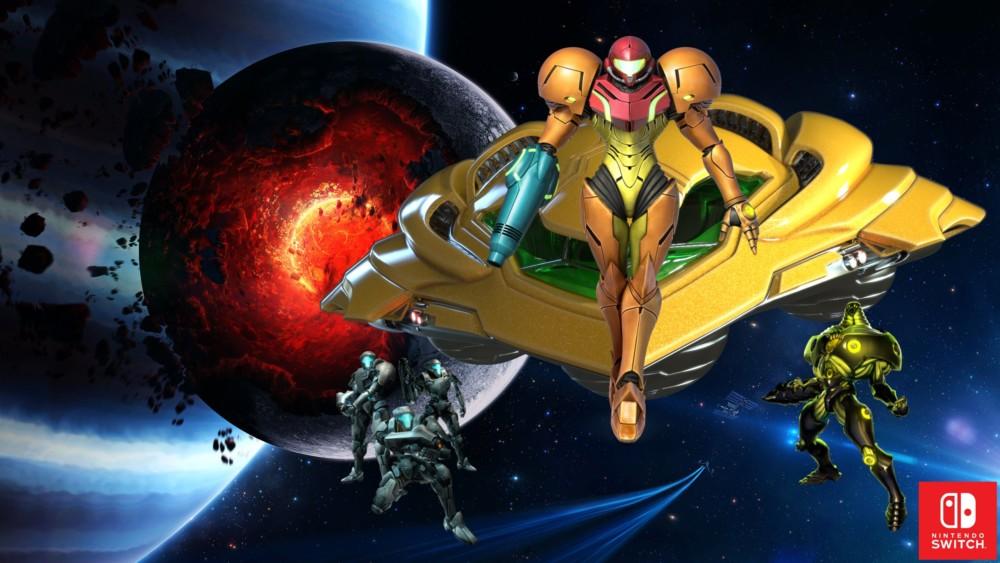 Metroid New Beginning sur Nintendo Switch
