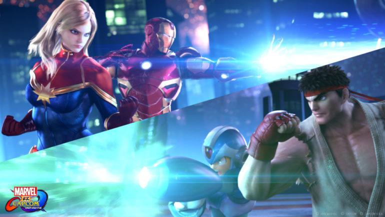 Marvel vs Capcom Infinite Team Ryu vs Team Iron Man
