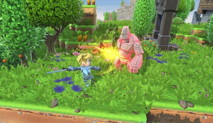 Portal Knights combat