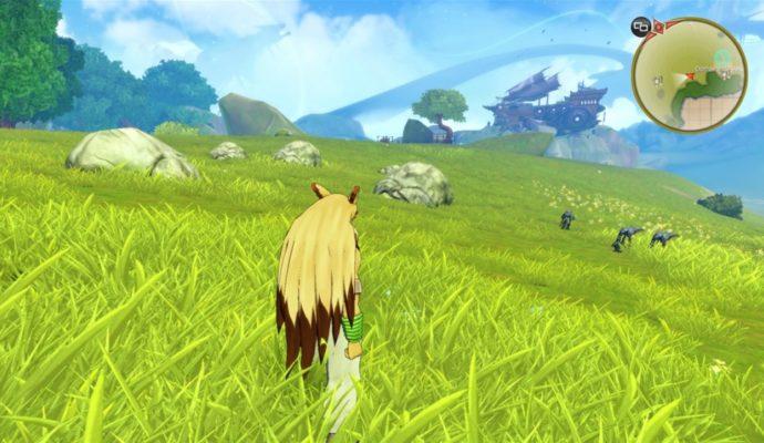 La plaine de Gendys dans Shiness, qui ressemble à la Plaine d'Hyrule de Zelda
