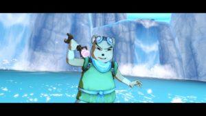 Une image de Shiness pour montrer les couleurs liées à l'eau lors de l'hyper de Poky