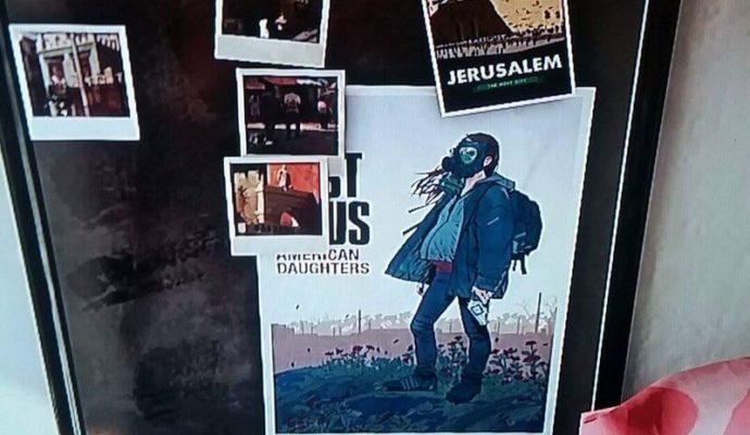 Easter egg Last of Us 2 Ellie dans Uncharted 4