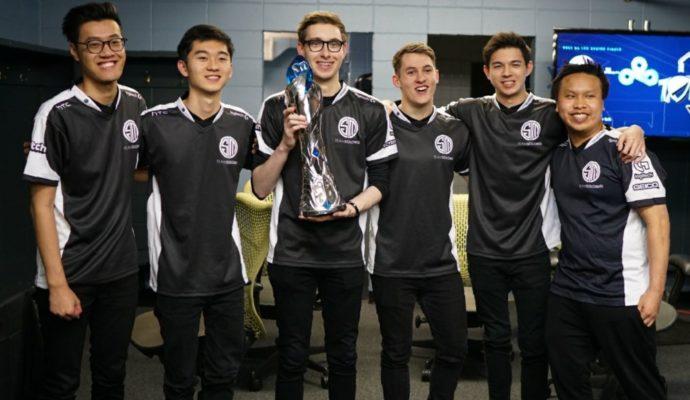 TSM Spring Split équipe victorieuse League of Legends Championship Series