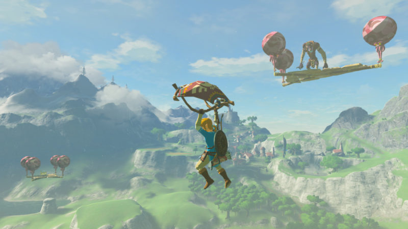 The Legend of Zelda: Breath of the Wild mode difficle