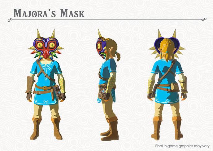 The Legend of Zelda: Breath of the Wild Majora's Mask