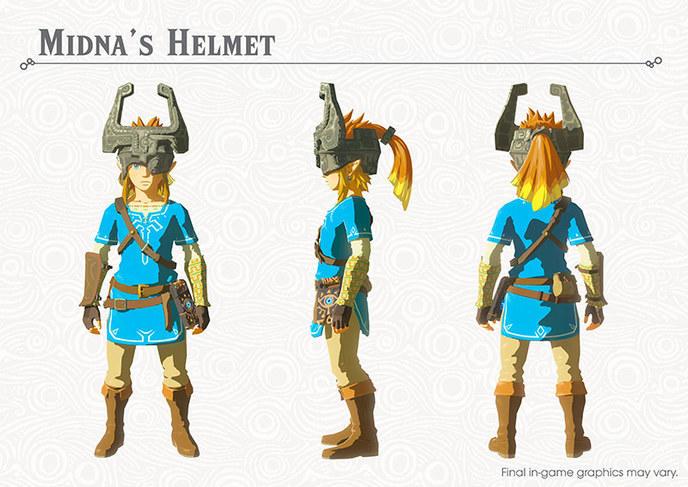 The Legend of Zelda: Breath of the Wild Le casque de Midna