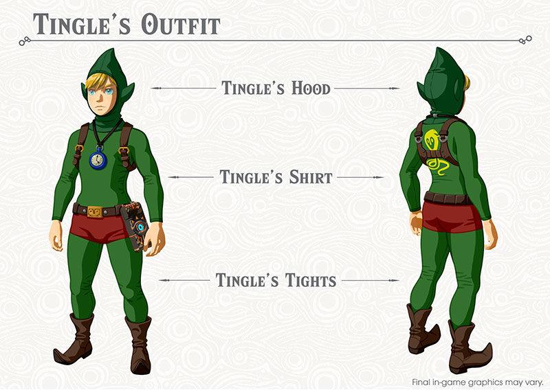 The Legend of Zelda: Breath of the Wild Costume de Tingle