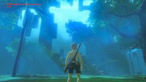 The Legend of Zelda: Breath of the Wild Trial of the Sword le défi de l'épée