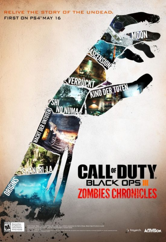 Call of Duty: Black Ops III Zombies Chronicles affiche