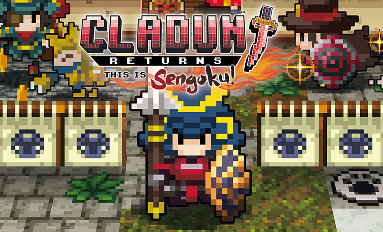 Cladun Returns: This is Sengoku! Titre