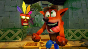 Crash Bandicoot N Sane Trilogy Crash en délire