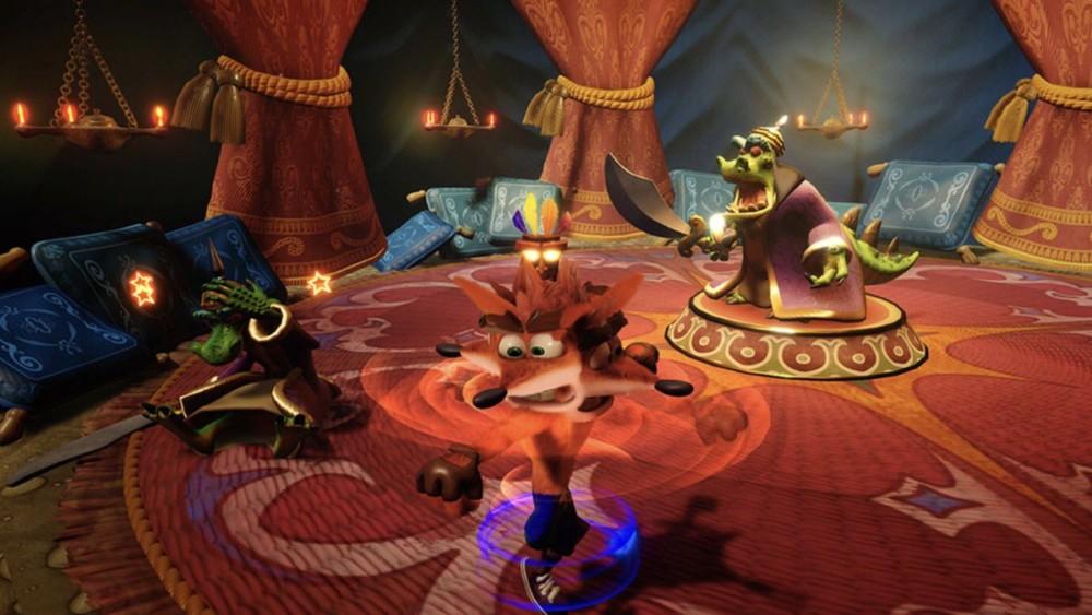 Crash Bandicoot N. Sane Trilogy komodo brothers