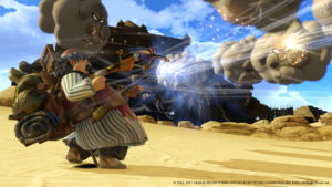 Dragon Quest Heroes II - Attaque du marchand