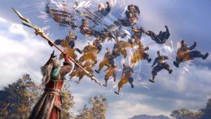 Dynasty Warriors 9 attaque