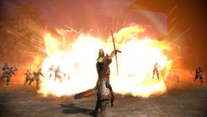 Dynasty Warriors 9 explosion