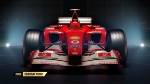 F1 2017 Ferrari 2002