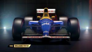 F1 2017 Willimas 1992