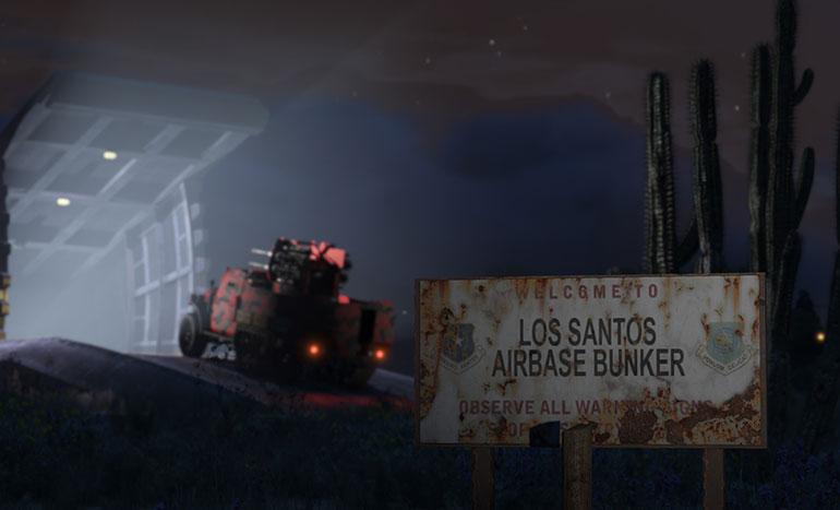 GTA Online Trafic d'armes Bunker