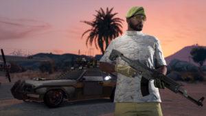 GTA V Trafic d'armes Joueur