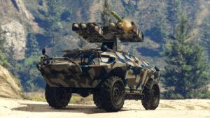 GTA Online Trafic d'armes Véhicule Anti-aériens