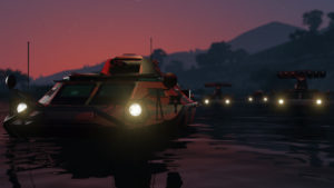 GTA Online Trafic d'armes Véhicules amphibies