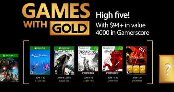 Games With Gold juin 2017