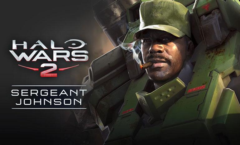 Halo Wars 2 Sergent Johnson Titre