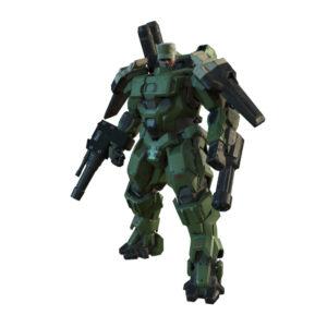 Halo Wars 2 Sergent Johnson Green Machine