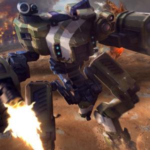 Halo Wars 2 Sergent Johnson Mantis