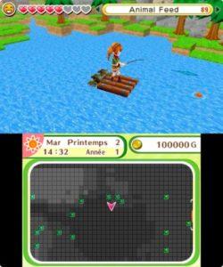 Harvest Moon : Le village de l'Arbre Céleste pêche