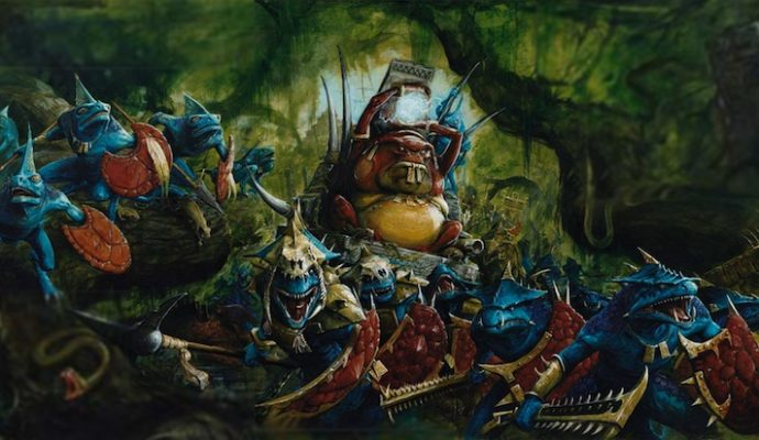 Total War: Warhammer II - hommes-lézards armées