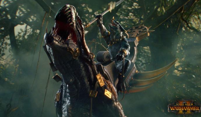 Total War: Warhammer II - hommes-lézards - carnasaur