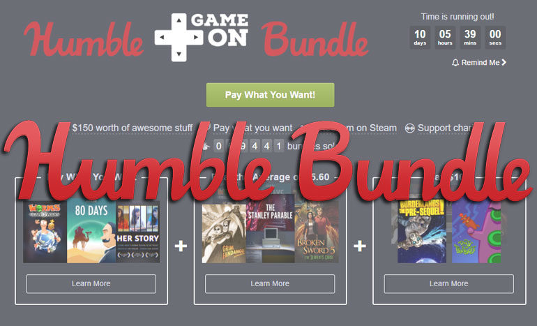 Humble Bundle Game On Titre