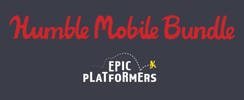 Humble Mobile Bundle Epic Platformers titre